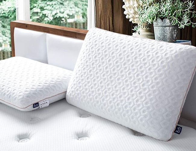 sleep better and sweat less with a cooling gel pillow