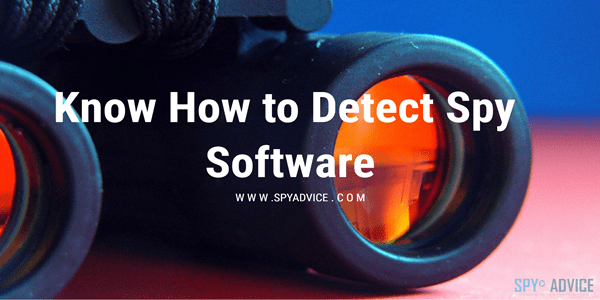 Detect Spy Software
