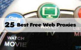 Best Free Web Proxies