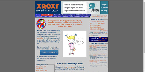 25 Best Free Web Proxies for Safer and Anonymous Surfing | SpyAdvice
