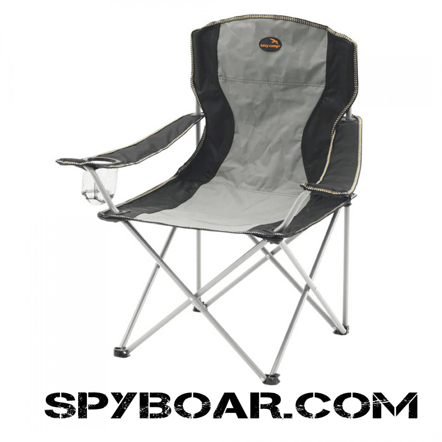 Soft Folding Chairs Easy Camp Folding Chair With Steel Frame And Cup Holders