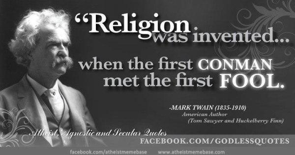 Mark Twain Quote spydersden