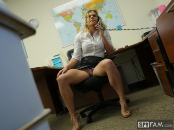 Cory Chase in Step-Son Sexually Harassed By Step-Mom At Work 5