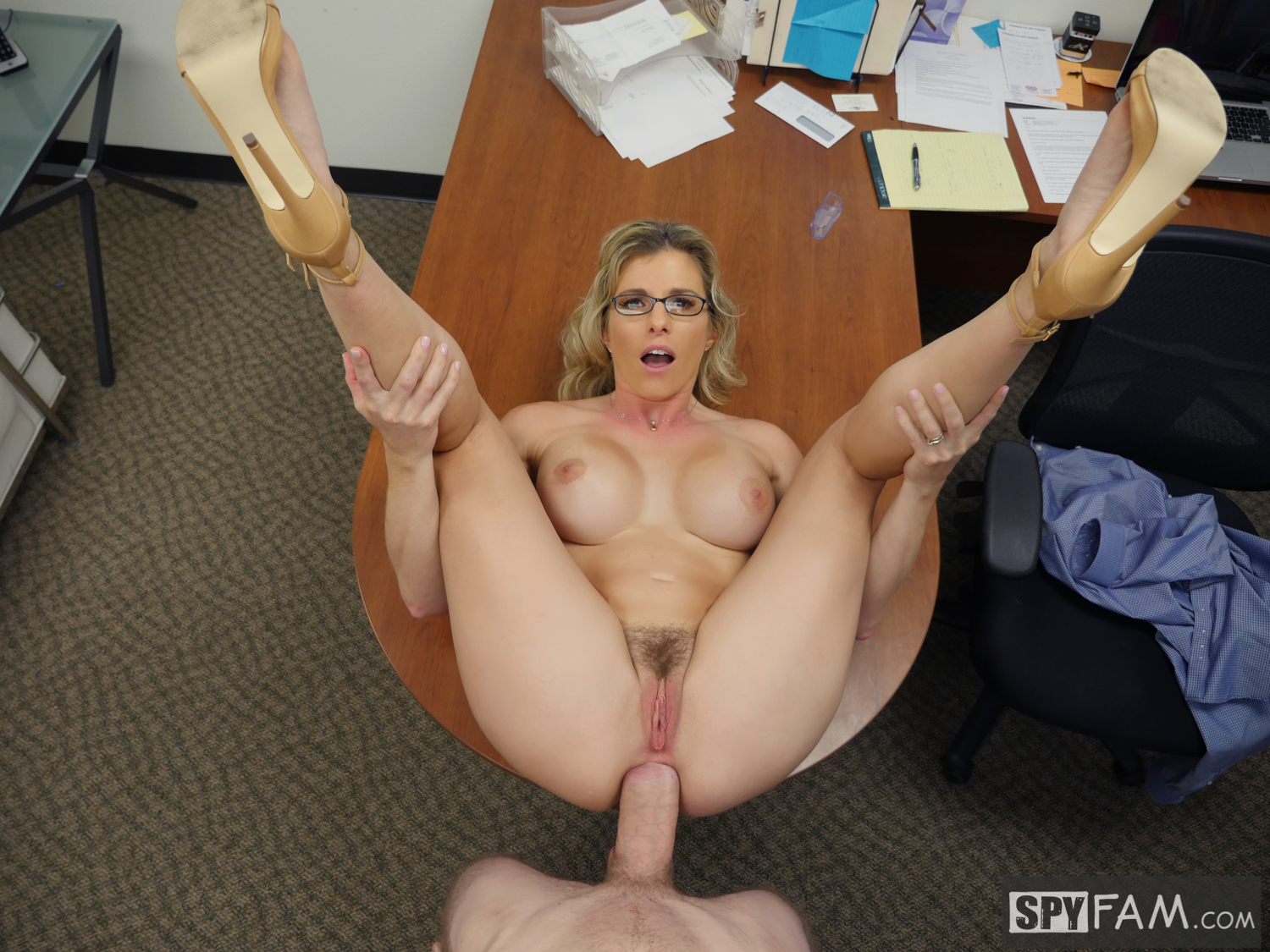 Cory Chase in Step-Son Sexually Harassed By Step-Mom At Work 13