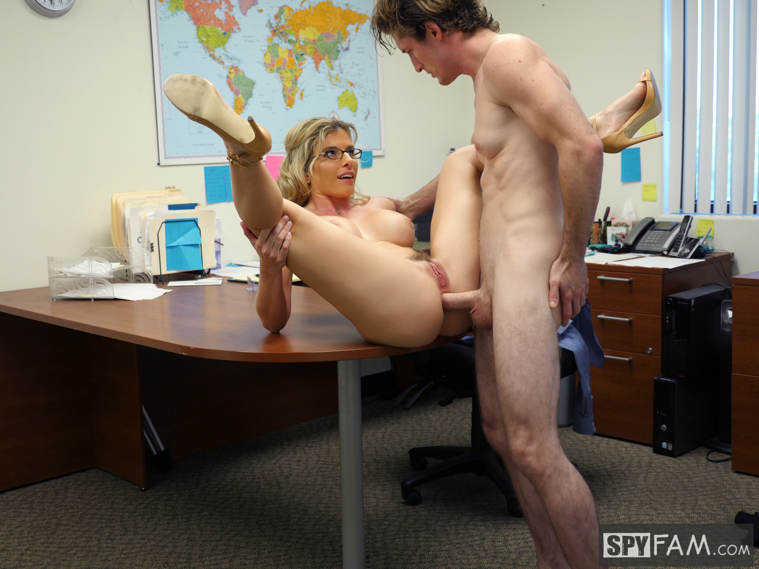 Cory Chase in Step-Son Sexually Harassed By Step-Mom At Work 15