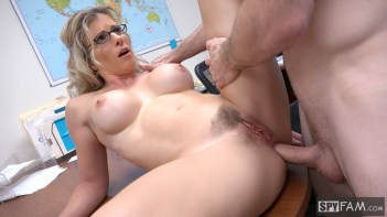 Cory Chase in Step-Son Sexually Harassed By Step-Mom At Work 16