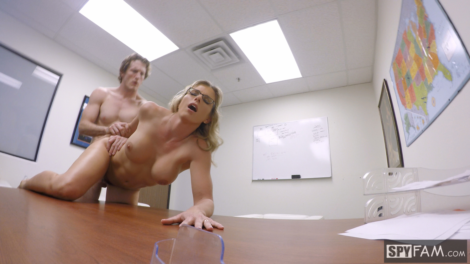 Cory Chase in Step-Son Sexually Harassed By Step-Mom At Work 22