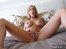 Brandi Love in Stepmom Plays with Gamer Son's Joystick 3