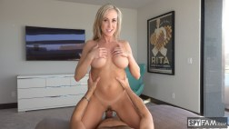Brandi Love in Stepmom Plays with Gamer Son's Joystick 24