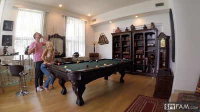 Laura Bentley in Stepmom Plays With Stepson's Cue Stick 8