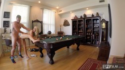 Laura Bentley in Stepmom Plays With Stepson's Cue Stick 16