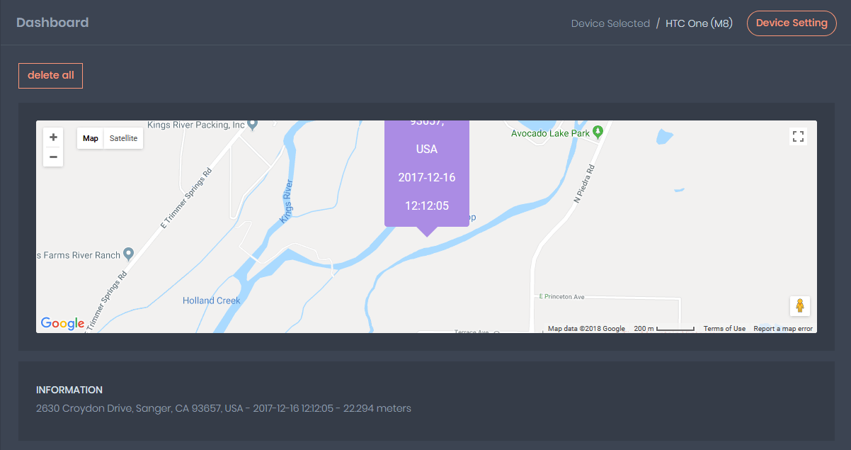 Get Free GPS tracking feature using SpyMug