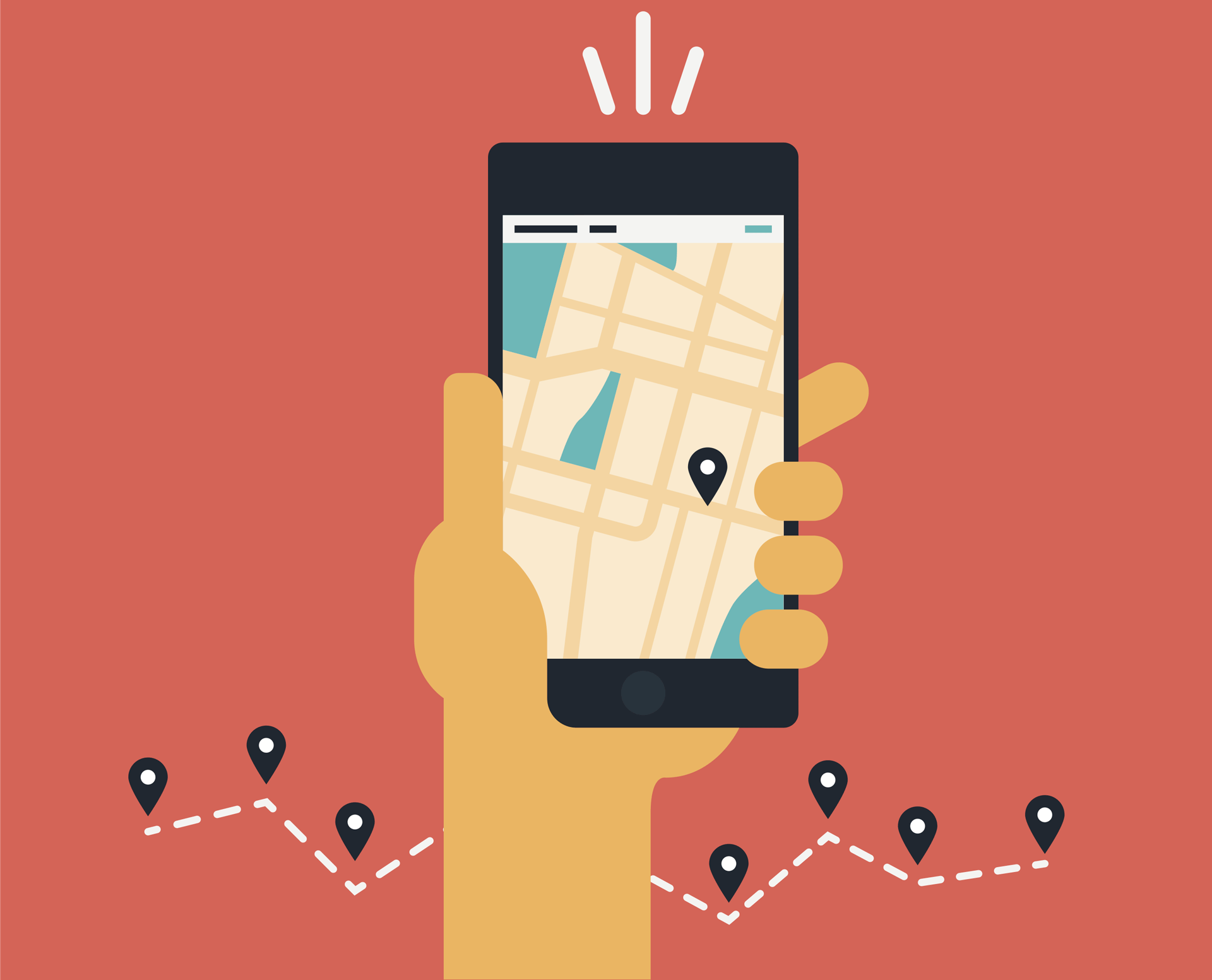 Real-time location tracking apps