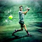 Federer training routine