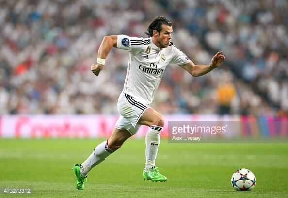 Gareth Bale Speed Record