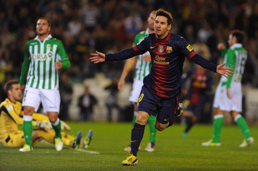 Messi Celebrating!