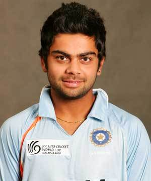 ViratKohli at the West Delhi Cricket Academy