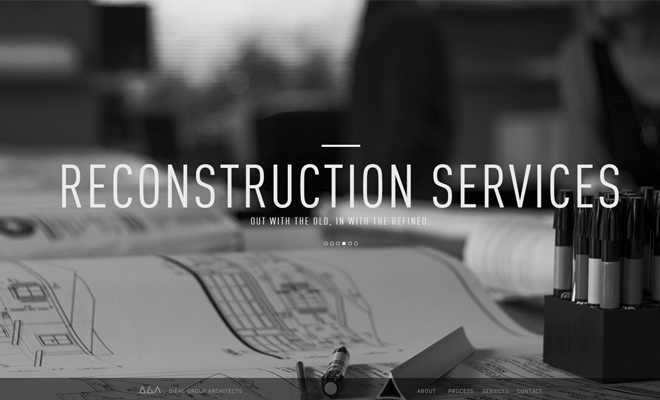Architecture Firm Website Designs