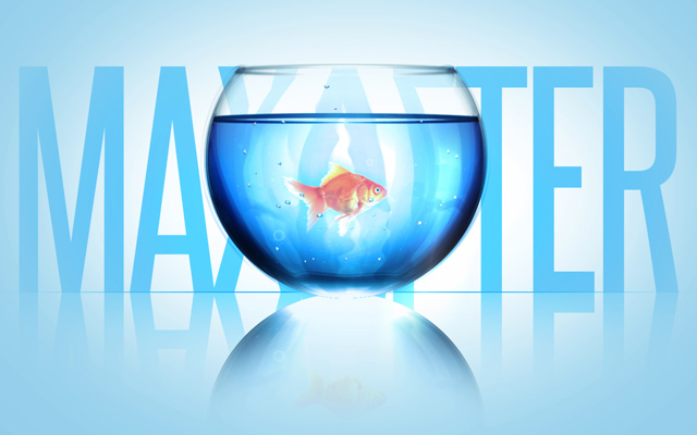 refracting light fish bowl effect animation