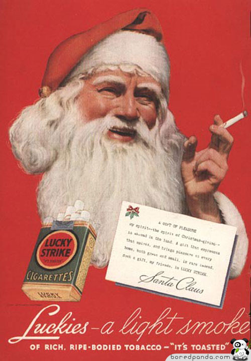 Image result for controversial vintage christmas ads