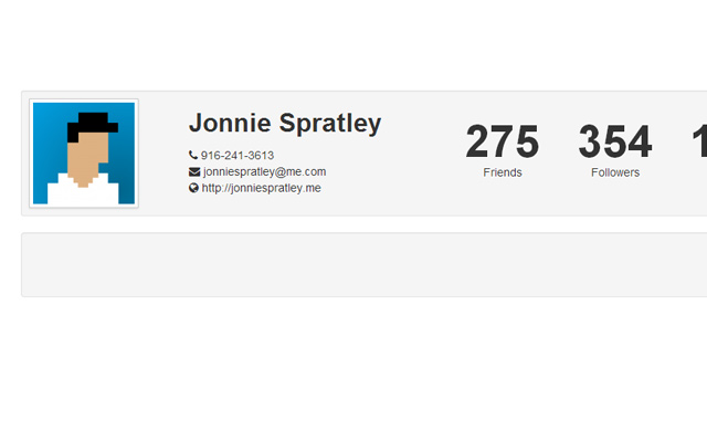 stats leaderboard profile css bootstrap free code