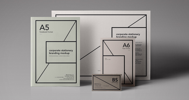 Stationary and Flyer mockups