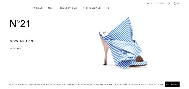 Ecommerce website that uses Magento