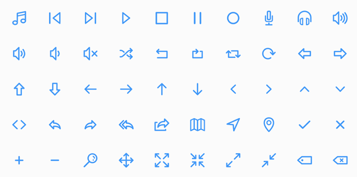 best free icons dripicons