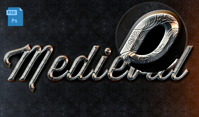 Medieval Text Effect