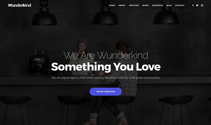 wunderkind bootstrap themes 2017