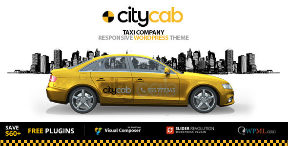CityCab - Taxi Company & Taxi Firm WordPress Theme - 13