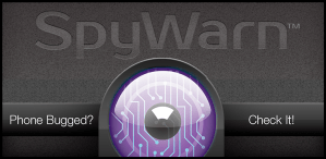 SpyWarn Feature Graphic for Google Play 1020x500
