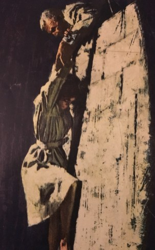 Wall Scene from The Spy Who, Art by Howard Turpin