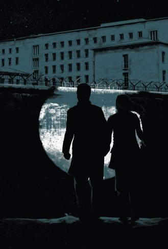 Wall Scene from The Spy Who, Art by Matt Taylor