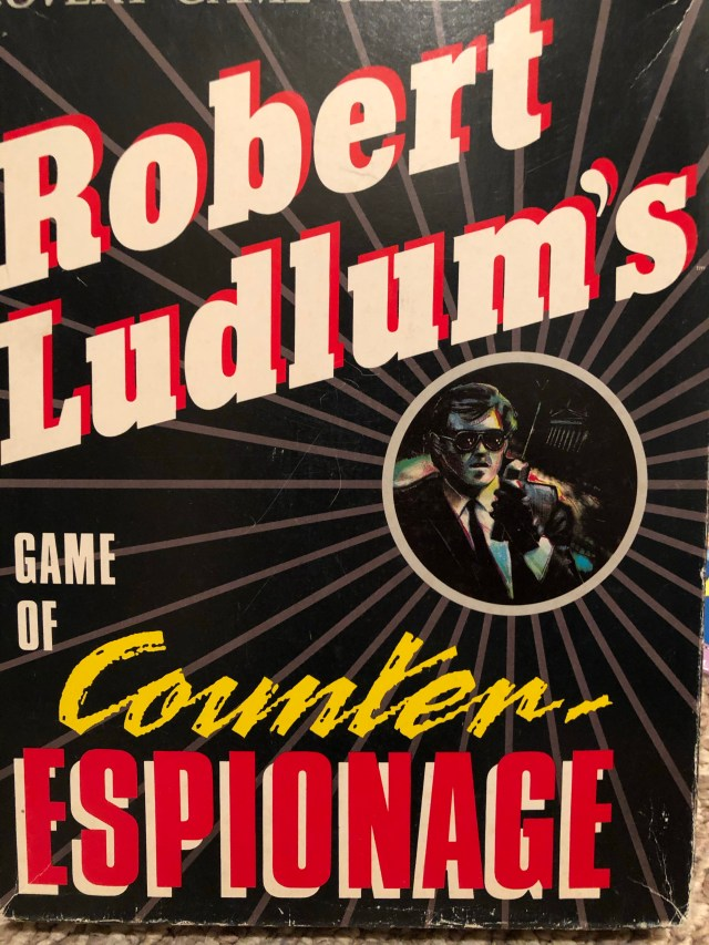 Cover to the game Robert Ludlum's Counter Espionage