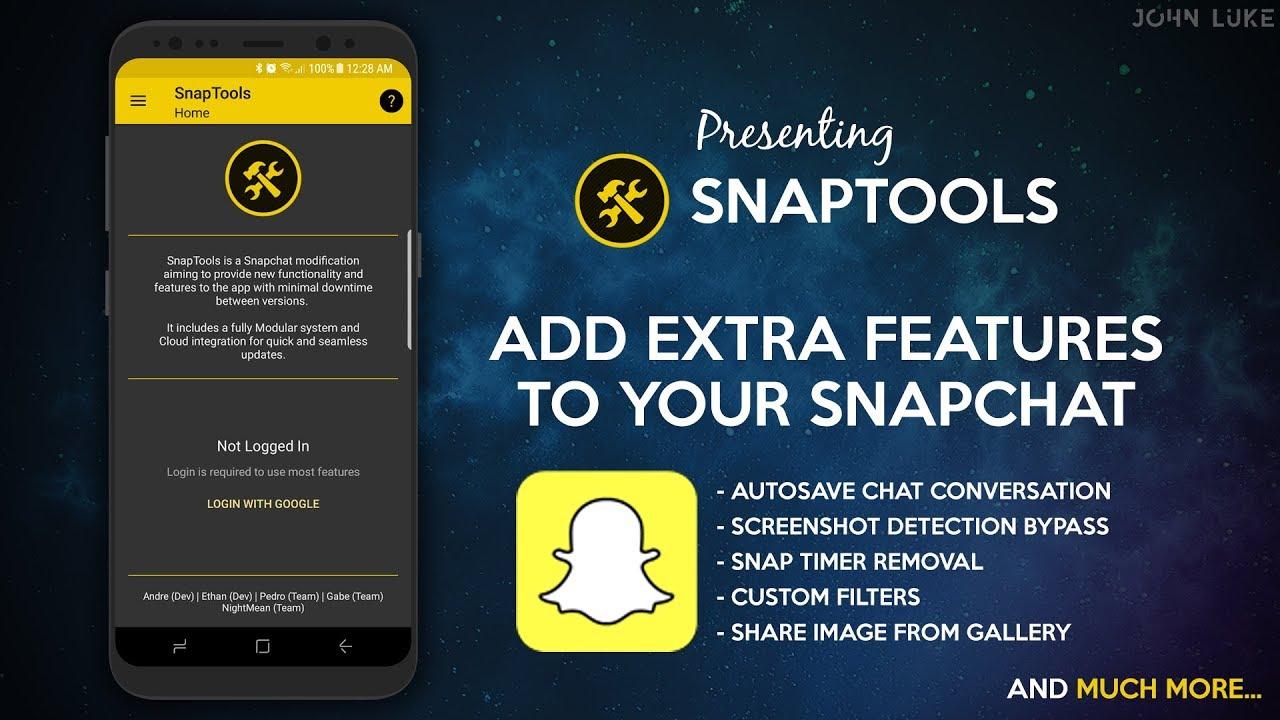 Hack Snapchat using Snaptools