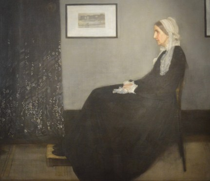 Arrangement in Grey & Black No. 1 (Whistler's Mother) — James McNeill Whistler