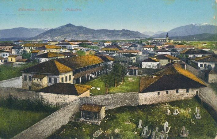 Shkodra - Varrezë muslimane