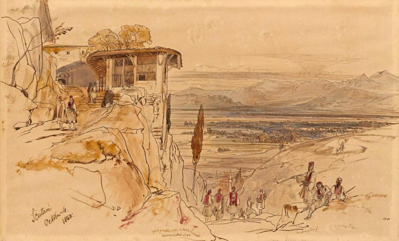 Shkodra, nga Edward Lear