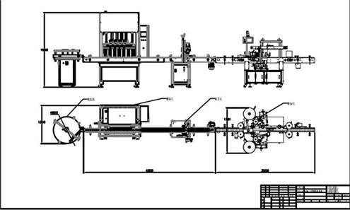 Olive oil servor motor driven four heads piston filling