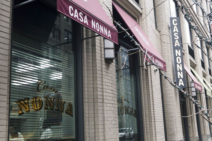 Casa Nonna  Manhattan Sideways