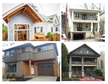 Portland House Styles