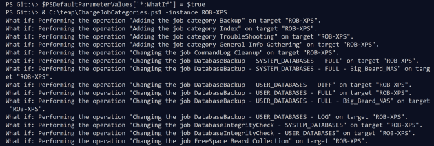 How to run a PowerShell script file with Verbose, Confirm or