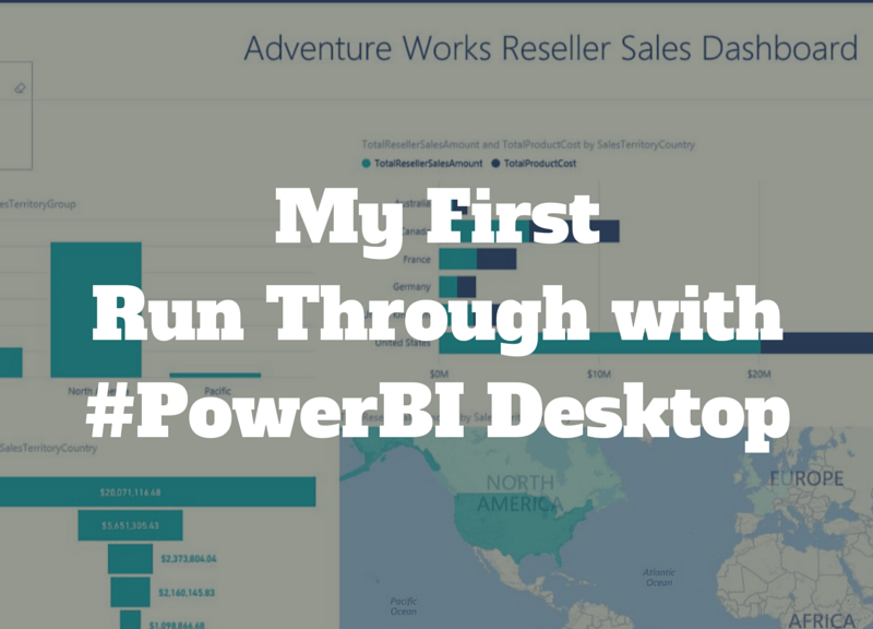 Learning Power BI Desktop