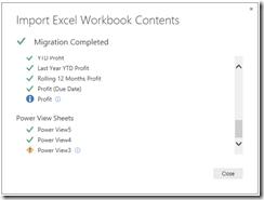 Import Excel Workbook contents into Power BI