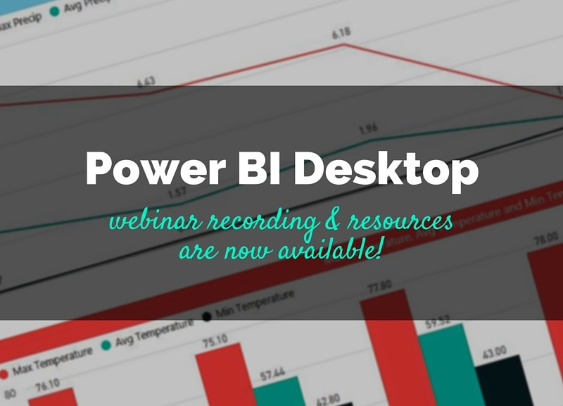 Power BI Tips, Tricks & Best Practices Webinar Recording