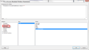 Hide and Group Columns in SSRS Using a Parameter – A Shot of