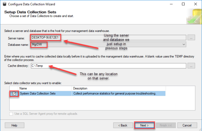 SQL Server Data Collection and Management Data Warehouse – A Shot of