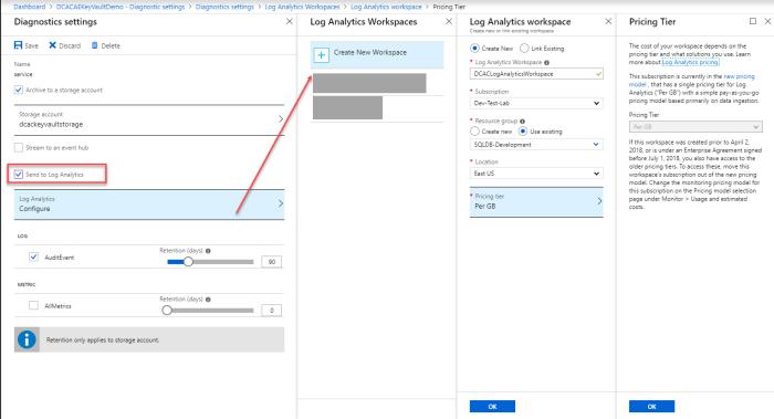 Azure Key Vault Logging – A Shot of SQLEspresso