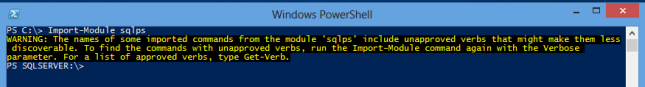 sqlps-import-module